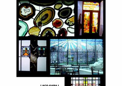 2) Laco Garaj-vitráže.